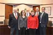 Mayor Rusty Knox and the Davidson Board of Commissioners