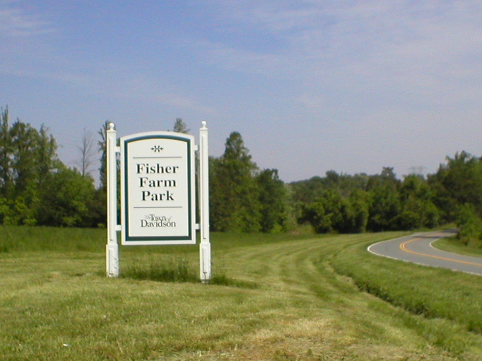 Fisher Farm Sign