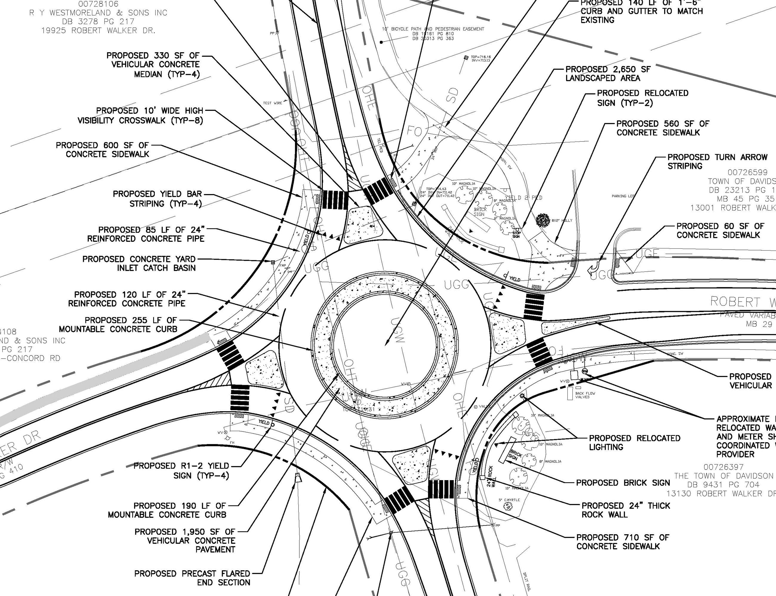 2016.10.31_SITE PLAN_Robert Walker roundabout